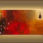 Requiem Paintings For Sale Wall Art Guitar Piano Abstract Painting