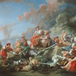 Returning From Market Francois Boucher Oil Painting Reproduction