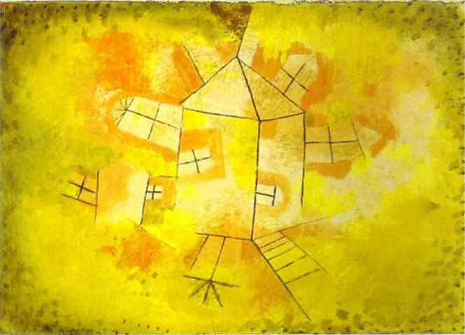 Revolving House Paul Klee Wikipaintings