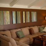 Right Painting Ideas For All Wall Room Your Home Brown Living
