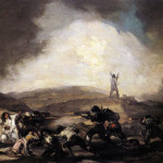 Robbery Francisco Goya Paintings Art Picture