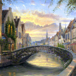 Robert Finale Paintings Impressionistic Oil Painting