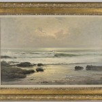 Robert William Wood Oil Painting Canvas Lot