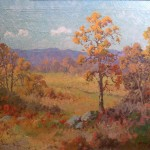 Robert Wood West Texas Fall Painting Framed Paintings For Sale