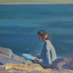 Rockwell Kent Paintings Plattsburgh State Art The Ashcan Paint