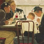 Rockwell Painting Saying Grace Brings Record National News