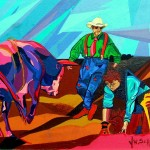 Rodeo Clown Painting Jamie Winter Fine Art Prints And