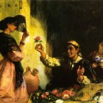 Romantic Oil Painting Paintings Reproductions Spanish