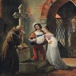 Romeo And Juliet Painting Francesco Paolo Hayez Oil