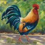 Rooster Art Maureen Pierce Roosters