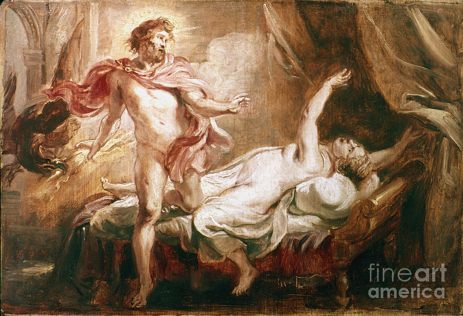 Rubens Jupiter And Semele Painting Fine