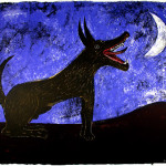Rufino Tamayo Moon Dog Famous Mexican Artists