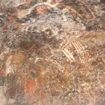 Rupestrian Ancient Cave Painting Dido And Aeneas