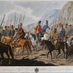 Russian Cossacks March Painting Hess Carl Ernst Oil