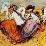 Russian Dancers Oil Painting Tidebuy