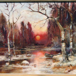 Russian Painting Oil Canvas Klever