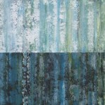 Sage Mountain Studio Large Abstract Painting Water