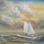 Sailing Painting Luczay Fine Art Prints And Posters For