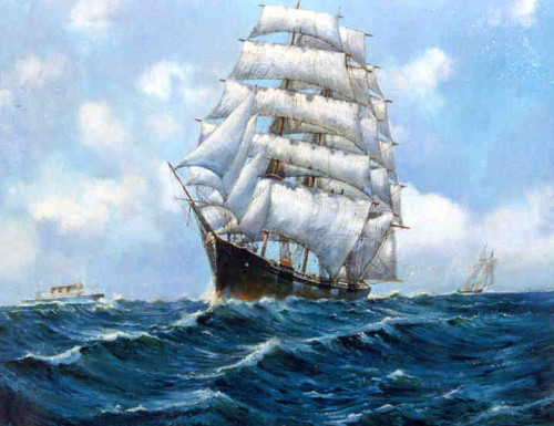 Sailing Ships Paintings Gabrielart Opera Slideshow