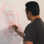 Salman Makes Painting The Great Artist