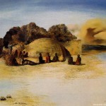 Salvador Dali Abstract Painting Art Paintings