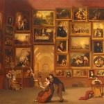 Samuel Morse The Gallery Louvre Oil Canvas Feet