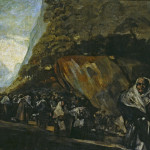 San Isidro Francisco Goya Black Paintings Art Picture