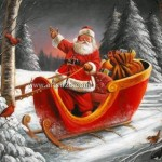 Santa Claus Oil Painting Paintings For Sale Cheap