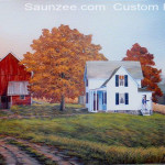 Saunzee Custom Painting Art Wall Mural Murals Muralis Murus Farm House