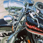 Scott Jacobs Limited Edition Giclee Canvas Road King