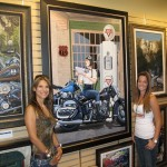 Scott Jacobs Painting Only Does One Motorcycle Year