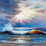 Seascape Oil Painting China Impression