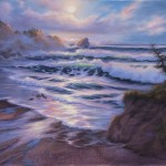 Seascape Paintings Charlotte Light