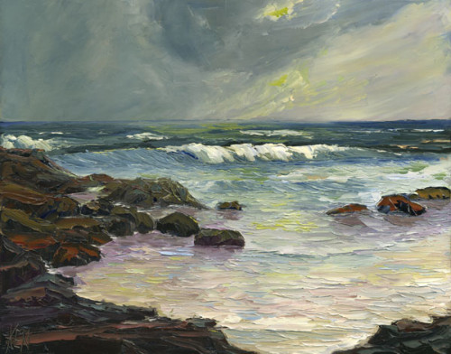 Seascape Paintings Modern Contemporary Oil Acrylic Watercolors