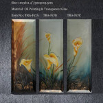 Sell Cheap Canvas Flower Wall Art Oil Paintings Tra Abc