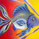 Series Works Fish Art Paintings And Original Fine Jason