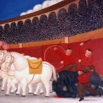 Shopping Fernando Botero Arrastre Painting