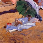 Siesta Joaquin Sorolla Wholesale Oil Painting China Picture