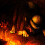 Six Inches From Hell Jocarra Digital Art Drawings Paintings