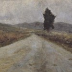 Small Tuscan Road Amedeo Modigliani Wholesale Oil Painting