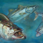 Snook Fish Painting Tom Dauria Art