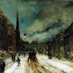 Snow Robert Henri About Our Paintings Each Hand Painted Oil Painting