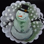Snowman Painting Holiday Ideas