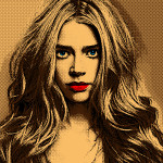 Something For Seamus Self Made Denise Richards Pop Art Portrait