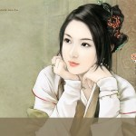 Song Dynasty Ancient Chinese Women Wallcoo