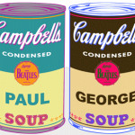 Soups Andy Warhol Style And Original Pop Art Portrait Urban Street