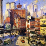 South Ferry New York Painting Acolin Campbell Cooper Paintings