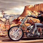 Spaceg Multimedia Collection Motorcycles David Mann Art