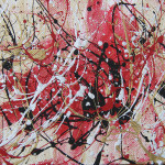 Splatter Painting Laura Lane Fine Art Prints And Posters