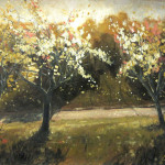Spring Coming Original Oil Painting For Sale Christopher Clark